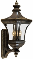 Quoizel DE8960IB Devon 26 inches tall wall outdoor light fixture in imperial bronze