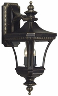 Quoizel DE8961IB Devon 25 inches tall wall outdoor light fixture in imperial bronze