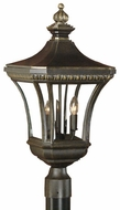 Quoizel DE9256IB Devon outdoor light post fixture in imperial bronze