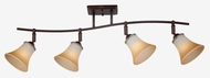 Quoizel DH1404PN Duchess 4-Light Track Light in Palladian Bronze