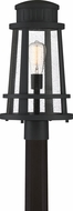 Quoizel DNM9010EK Dunham Earth Black Exterior Lamp Post Light
