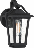 Quoizel DRS8407EK Darius Earth Black Exterior 7  Wall Sconce Lighting