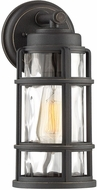 Quoizel DST8406PN DeSoto Contemporary Palladian Bronze Outdoor 5.75  Sconce Lighting