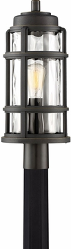 Quoizel DST9009PN DeSoto Modern Palladian Bronze Outdoor Lighting Post Light