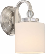 Quoizel DW8701BN Downtown Brushed Nickel Wall Lamp