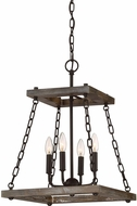Quoizel DWL5204WT Dwelling Contemporary Western Bronze Foyer Lighting