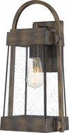 Quoizel ELL8409SU Ellington Statuary Bronze Outdoor Wall Mounted Lamp