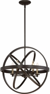 Quoizel EON2823WT Eons Modern Western Bronze 23  Drop Lighting Fixture