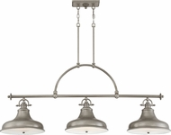 Quoizel ER353DI Emery Contemporary Distressed Nickel Island Light Fixture