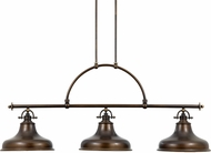 Quoizel ER353PN Emery Vintage Palladian Bronze Kitchen Island Light Fixture