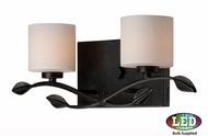 Quoizel ERN8602IBLED Erin Imperial Bronze LED 2-Light Bath Wall Sconce
