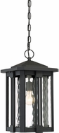 Quoizel EVG1911EK Everglade Contemporary Earth Black Outdoor Lighting Pendant