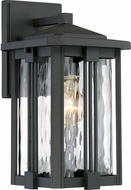 Quoizel EVG8407EK Everglade Modern Earth Black Outdoor 6.5  Lamp Sconce