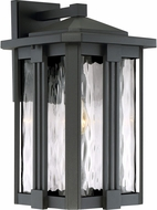 Quoizel EVG8411EK Everglade Modern Earth Black Outdoor 10.5  Wall Light Fixture