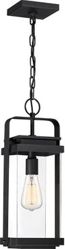 Quoizel EXH1908EK Exhibit Contemporary Earth Black Outdoor Hanging Light