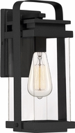Quoizel EXH8406EK Exhibit Modern Earth Black Exterior Small Sconce Lighting