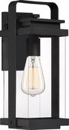 Quoizel EXH8407EK Exhibit Contemporary Earth Black Outdoor Medium Light Sconce