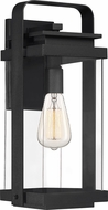 Quoizel EXH8408EK Exhibit Modern Earth Black Exterior Large Lighting Sconce