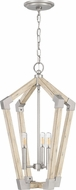Quoizel FB5203AN Fable Modern Antique Nickel 16  Foyer Lighting Fixture