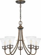 Quoizel FCH5025SU Fairchild Traditional Statuary Bronze Chandelier Light