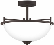 Quoizel FLY1714OZ Foley Modern Old Bronze Ceiling Light Fixture