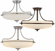 Quoizel GF1721 Griffin Large Semi-Flush Ceiling Light