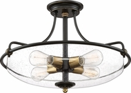 Quoizel GFC1721PN Griffin Modern Palladian Bronze Flush Lighting