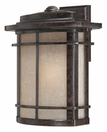 Quoizel GLN8412IB Galen Craftsman 14 Inch Tall Outdoor Wall Light Sconce - Imperial Bronze