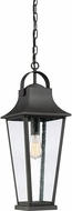 Quoizel GLV1908MB Galveston Mottled Black Outdoor Pendant Hanging Light
