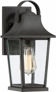 Quoizel GLV8406MB Galveston Mottled Black Outdoor 6  Wall Lighting Fixture