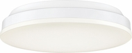 Quoizel GLW1612W Glow Modern White Lustre LED 11.5  Overhead Lighting