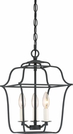 Quoizel GLY5203BA Gallery Modern Royal Ebony 10  Foyer Light Fixture