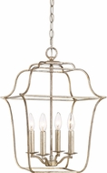 Quoizel GLY5204CS Gallery Century Silver Leaf 14  Foyer Lighting