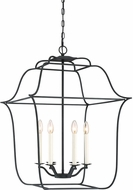 Quoizel GLY5206BA Gallery Modern Royal Ebony 22  Entryway Light Fixture