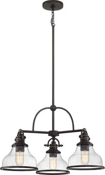 Quoizel GRTS5103PN Grant Contemporary Palladian Bronze Chandelier Light