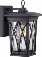 Quoizel GVR8406K Grover Traditional Mystic Black Outdoor Lamp Sconce