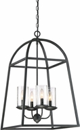 Quoizel GZ5204GK Gazebo Contemporary Grey Ash Foyer Lighting
