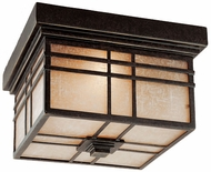 Quoizel HC1612IB Hillcrest outdoor ceiling light fixture in imperial bronze