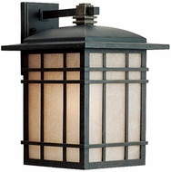 Quoizel HC8411IB Hillcrest 15.5 inches tall outdoor wall light fixture in imperial bronze