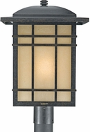 Quoizel HC9013IB Hillcrest Mission Imperial Bronze Outdoor Post Light Fixture