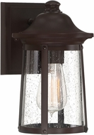 Quoizel HGN8406WT Hogan Western Bronze Exterior 6  Wall Light Sconce