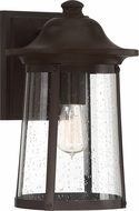 Quoizel HGN8410WT Hogan Western Bronze Exterior 9.5  Wall Light Sconce