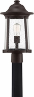 Quoizel HGN9010WT Hogan Western Bronze Outdoor Lighting Post Light