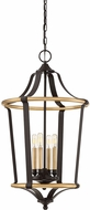 Quoizel HGT5204WT Highgate Contemporary Western Bronze 18  Foyer Lighting Fixture