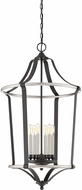 Quoizel HGT5206EK Highgate Modern Earth Black 22  Entryway Light Fixture