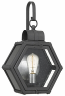 Quoizel HTH8411MB Heath Modern Mottled Black Exterior 10.5  Wall Sconce Light