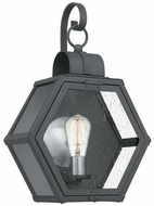 Quoizel HTH8413MB Heath Contemporary Mottled Black Outdoor 13  Wall Sconce