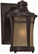 Quoizel HY8407IB Harmony 10.5 inches tall outdoor lighting wall fixture in imperial bronze
