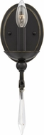 Quoizel JOU8701PN Joules Traditional Palladian Bronze Wall Lamp