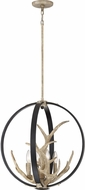 Quoizel JR2820EK Journey Country Earth Black Pendant Light